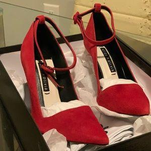 Women's Red High Heels (Alice + Olivia)